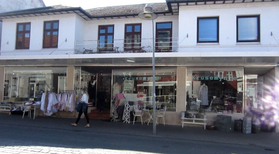 Butiklokaler til leje i Hornbæk